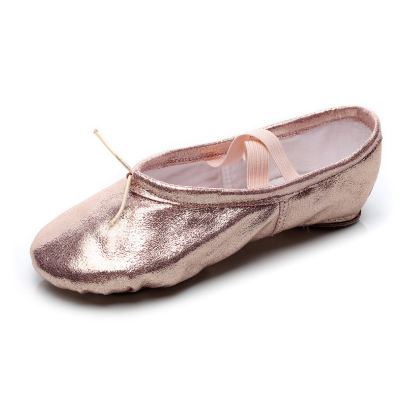 Yoga Slippers Gym Teacher Yoga Ballet Dance Shoes For Girls Woman Pu Ballet Shoes Kids Children