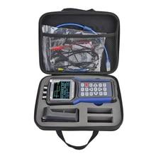 Jds2023 osciloscópio digital portátil, de armazenamento digital usb 2 canais 20mhz para estudantes