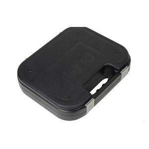 Image 5 - Glock tático abs caso pistola coldre caixa de engrenagem dura arma saco acolchoado forro de espuma para caça tiro acessórios