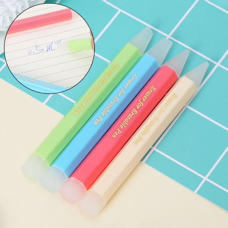 Фрикционная ручка, ластик, гелевые чернила, специальное средство для удаления резины, эффективное средство для очистки студентов