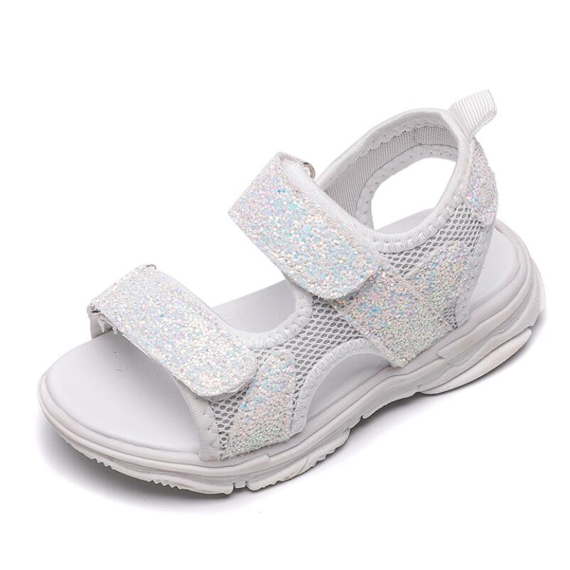 Girls Brands Summer Sandals Children Soft Sole Beach Sandals 1-8 Years Old Baby Anti-slip Cozy Cute Sport Shoes