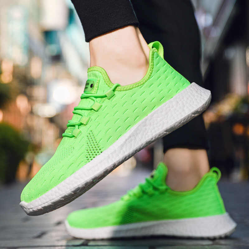 Männer Turnschuhe 2020 Casual Schuhe für Herren Mode Trainer Atmungs Mann Weiß Sneaker Tenis Hombre Zapatillas Deportiva Schwarz