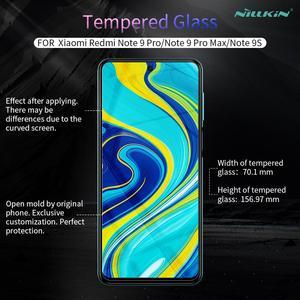 Image 5 - Nillkin for Xiaomi Redmi Note 9S 9 Pro Max 8T 8 7 Pro Poco X3 NFC Mi 10T Pro 10 Lite 9 9T Pro A3 Tempered Glass Screen Protector