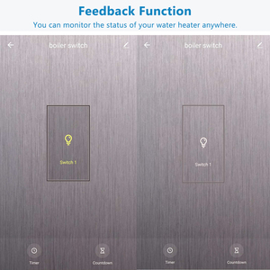 Image 4 - Smart Life WiFi Boiler Water Heater Switch 4400W App Remote ON OFF Timer Schedule Voice Control by Google Home Alexa Siri