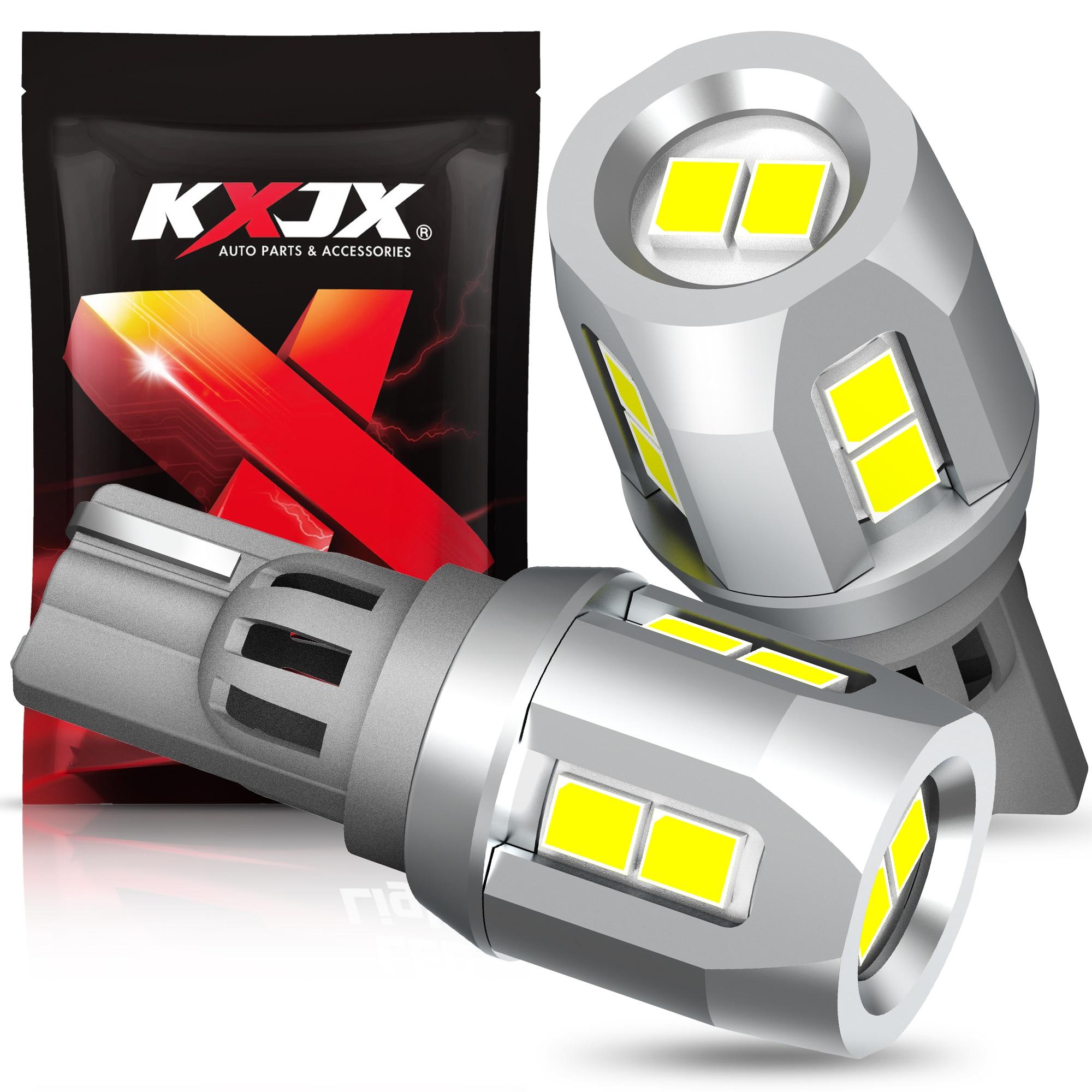 2X T15 светодиодные лампы W16W Led Canbus 920 921 912 лампа 1000LM 3030SMD супер яркие автомобильные обратные запасные огни 6000 К белый свет 12V авто