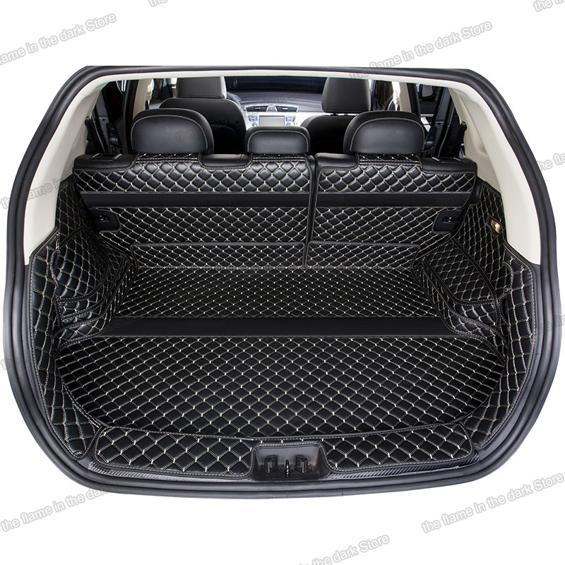Lsrtw2017 Leather Car Trunk Mat Cargo Liner For Geely Boyue Atlas Emgrand 2020 Boot Cover Accessories 2016 2017 2018 2019
