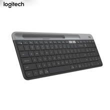 Logitech teclado inalámbrico K580 Original, multidispositivo, 2,4G, modo Dual unificador para ordenador, tableta y teléfono