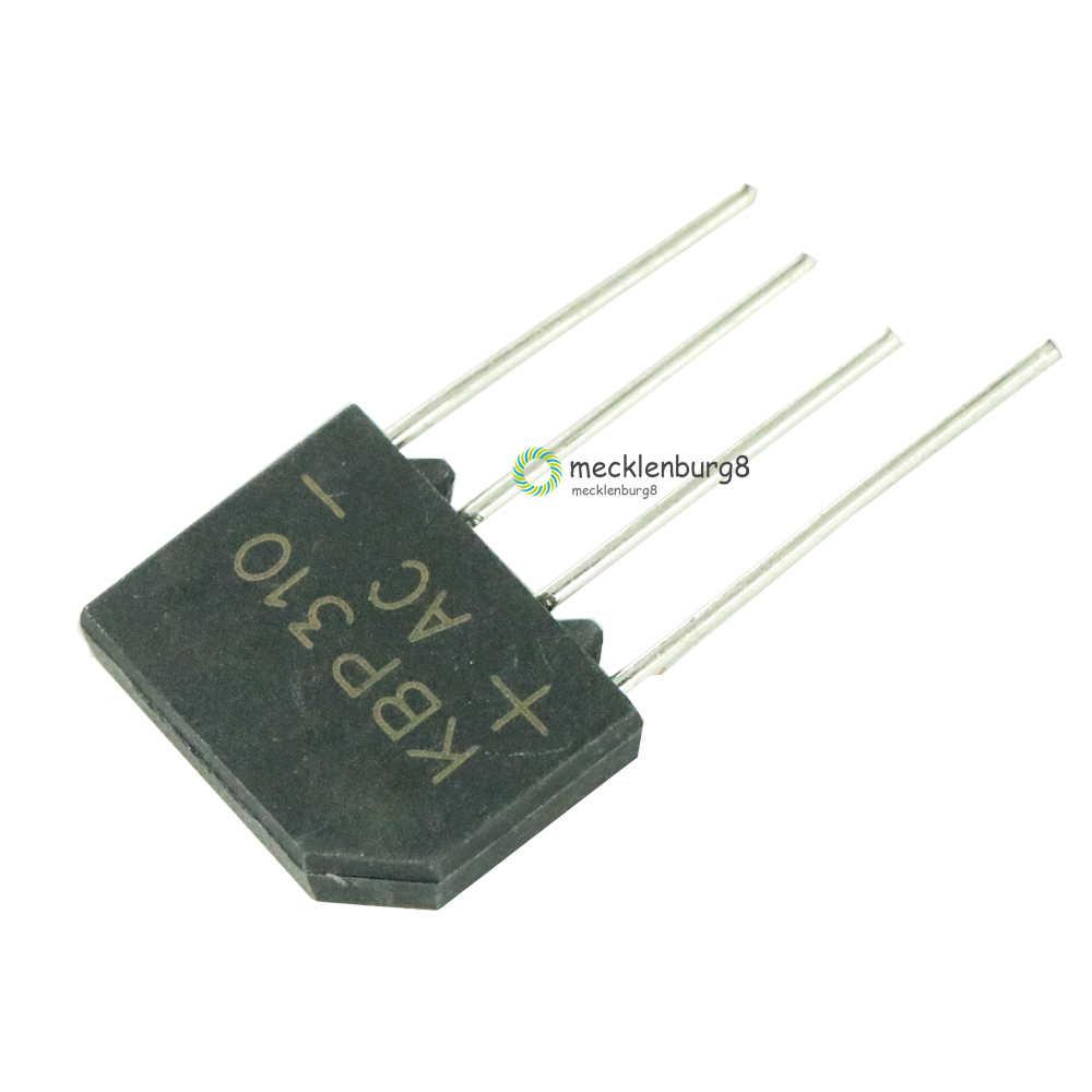 5 stück. KBP310 SIP-4 3A 1000 V diode bridge rectifier single phase bridge rectifier neue ankunft
