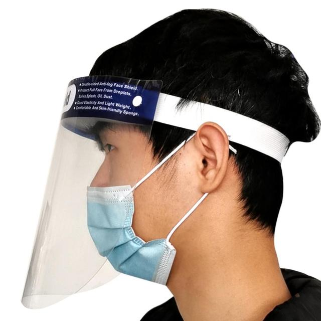 New Protective Face Shield For Kitchen Oil-Splash Proof Mask Effectively Isolates Saliva Anti-fog Transparent Protection Mask 1