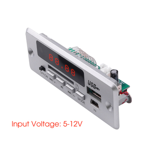 Image 3 - אלחוטי Bluetooth V5.0 MP3 פענוח לוח מודול רכב MP3 נגן TF כרטיס חריץ/USB/FM/מרחוק פענוח לוח מודול