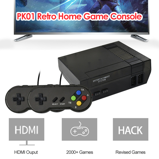 Built-in 2000 Video Games HDMI Output Gaming Player Retro Mini TV Game Console Adults Handheld Mini Gaming Player