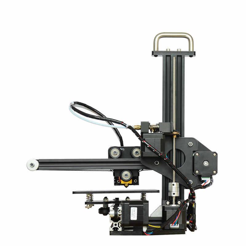 Tronxy, impresora 3d educativa, kit DIY de escritorio de alta precisión, perfil de aluminio, impresora 3d X1, máquina 3d