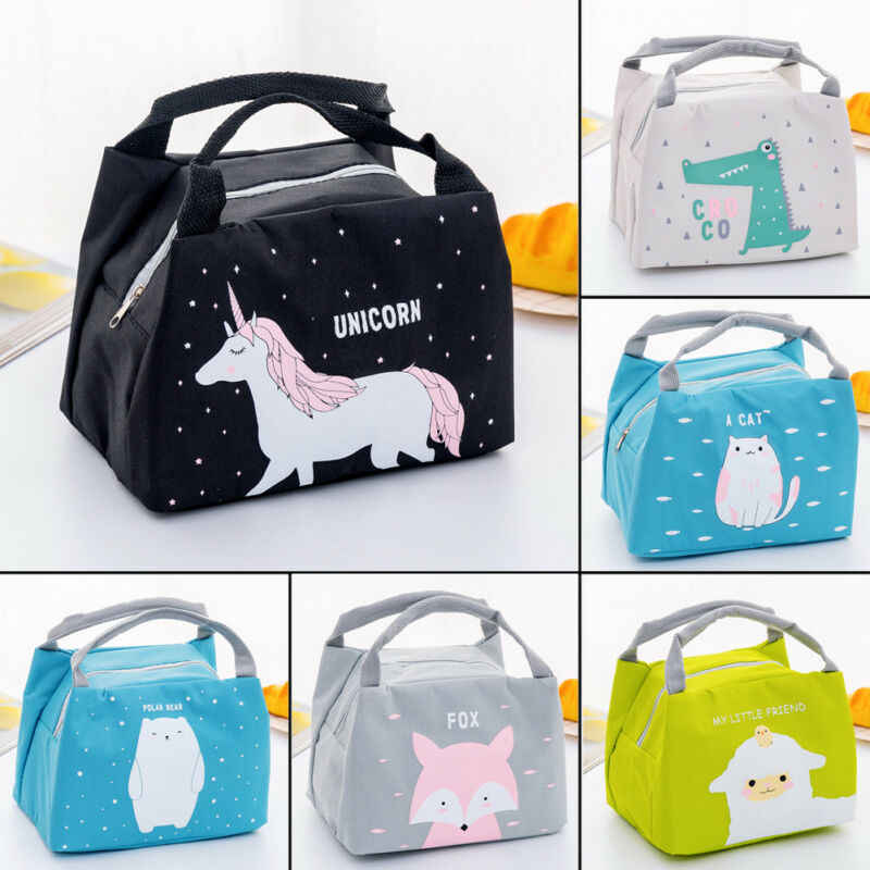 Portable Picnic Bag Animal Thermal Insulated Cooler Waterproof Picnic Lunch Box Bags Pouch Outdoor Lunch Box