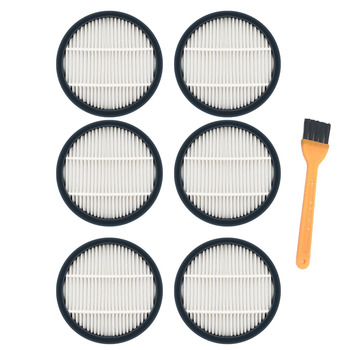 6pc/lot Hepa Filter for xiaomi Deerma VC40 Handle Vacuum Cleaner Parts Accessories Filter 2pcs lot high quality compatible for electrolux vacuum cleaner accessories filter hepa filter zs203 zw1300 213