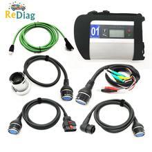 Herramienta de diagnóstico para MB Star SD C4 Chip completo, multilenguaje con Nuevo software V2020.3 para coche y camión, MB SD