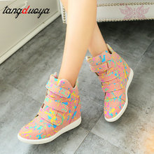 Autumn Women Casual Shoes Ankle Boots He