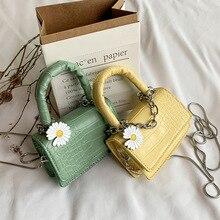 Sac femme livraison gratuite 2020 flower shoulder messenger bag small leather handbag designer mini bolsa feminina crossbody