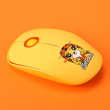 New 2.4G Cartoon Fopato L8 Silent Ultra-thin Creative Business Office Wireless Mouse Ergonomic Computer Accessories