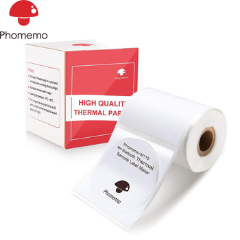 Phomemo M110 Multi-Purpose Self-Adhesive Round Label For Phomemo M110 Label Printer Strong Ddhesion