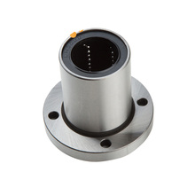 1 pc LMF8UU flange mount linear bearing flanged linear ball bearings nickel mounted linear ball bearings free shipping 10 pcs smf106zz flanged bearings 6x10x3 mm stainless steel flange ball bearings ddlf 1060zz