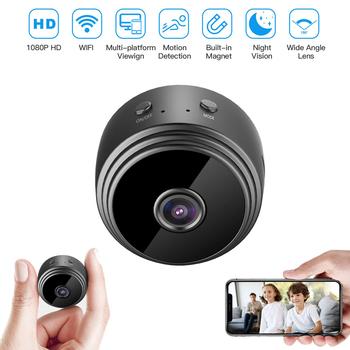 A9 Wifi Mini kamera ip na zewnątrz wersja nocna mikro kamera kamera nagrywanie audio wideo bezpieczeństwa bezprzewodowa hd Mini kamery tanie i dobre opinie CHIPROUND CN (pochodzenie) 1080 p (full hd) A9 Mini Microsd tf CMOS