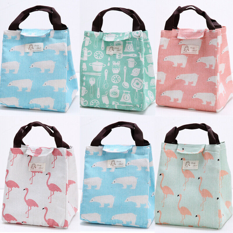 Waterproof Oxford Cloth Lunch Bag For Women Children Food Cooler Tote Insulation Lunch Bag Adult Tote Food For Women Men