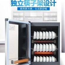 Бытовая настольная однодверная посуда, дезинфекционный шкаф для шкафа, Электронная сушилка для посуды
