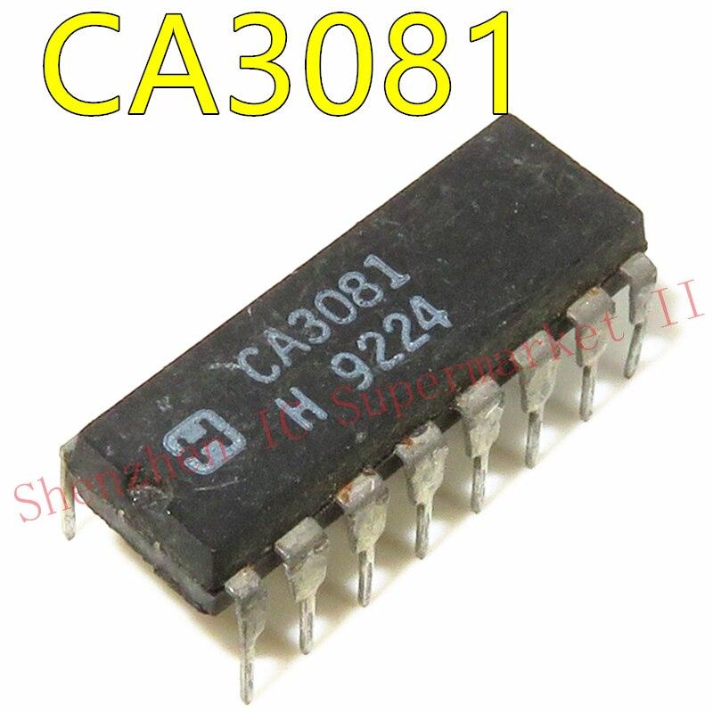 1pcs/lot CA3081 DIP-16 In Stock General Purpose High Current NPN Transistor Arrays