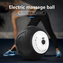 цена на Yoga Vibrating Massage Ball Electric Massage Roller Fitness Ball Relieve Muscle Training Fascia Local Muscle Relaxation Ball