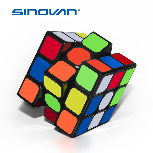 3x3x3 Professional Magic Cube Sail Fast Speed Rotation High Quality Cubo Magico Speed Cube Toys for Children Gift