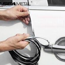 15M Car Door Protector Strips Car Sticker Protector Door Edge Scratch Guard Trim For KIA Toyota BMW Audi Exterior Accessories