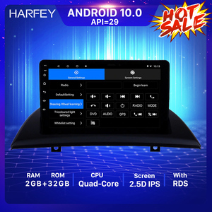 Harfey Android 10.0 2din GPS Car Multimedia Player For 2004-2012 BMW X3 E83 2.0i 2.5i 2.5si 3.0i 3.0si 2.0d 3.0d 3.0sd