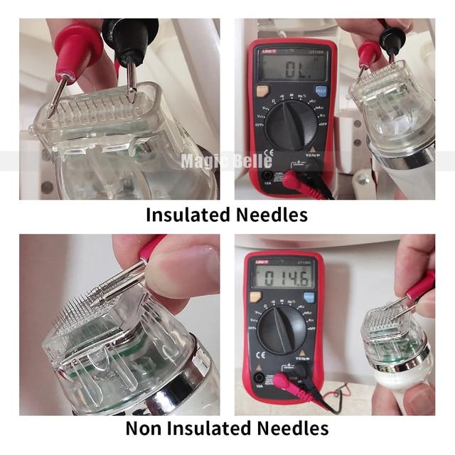 Portable 4 Conseils Microneedle RF Micro Aiguille Fractionnaire RF Soins De La Peau Machine de Beauté
