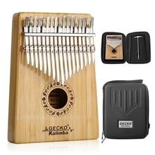 Thumb-Piano Kalimba Tuning-Hammer Performance-Protection SEWS-GECKO Adult Kids 17-Keys