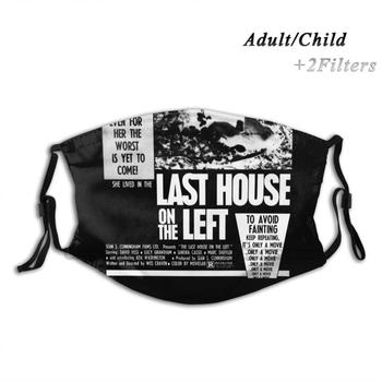 The Last House On The Left ( 1972 ) Wes Craven Adult Kids Washable Funny Face Mask With Filter The Last House On The Left The image