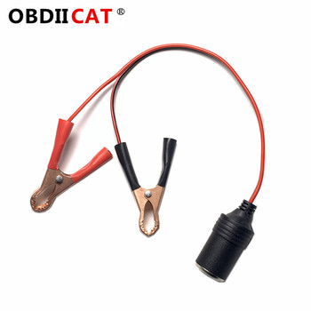 Car Jump Starter Emergency Jumper Cable Clamp clip Battery EC5 Auto DC Adapter 12V Car Cigarette Lighter Adapter Turn EC5 image