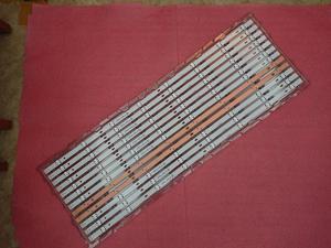 Image 1 - 15pcs/lot LED backlight strip for LG UF64_UHD_A 43LH60_FHD_A Type 43LH604V 43UF6407 43LH604V 43UF6400 43UF640V 43UF6030