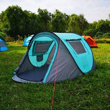 Automatic free set up speed open billing boat tent rain and windproof family camping