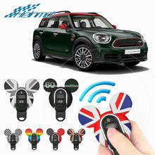 For MINI F56 F57 Car Key Case Keychain For MINI Cooper S One JCW Countryman F60 F54 F55 Car Key Protection Cover Chain & Rope