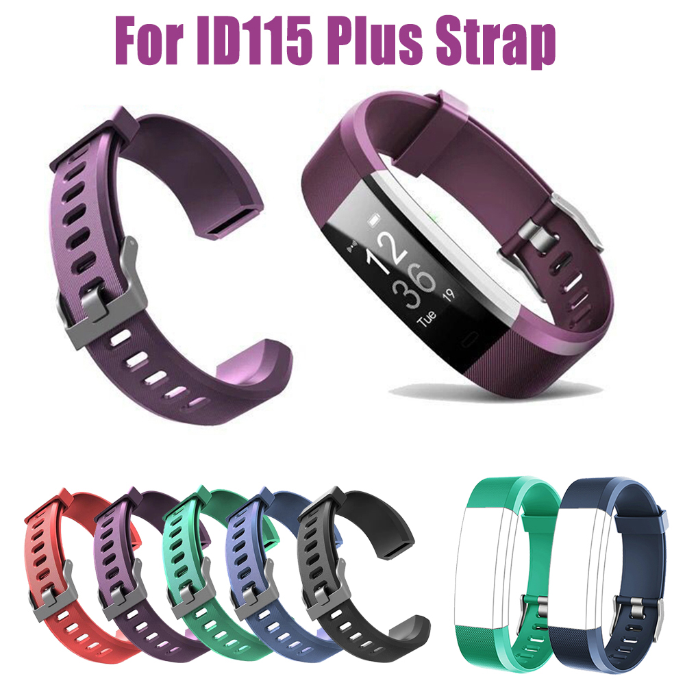 For ID115 Plus Wrist Band Strap Replacement Silicone Watchband Watch Bracelet Fa
