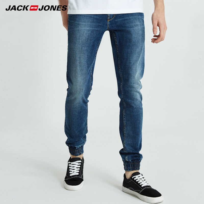 Jack Jones Mens Leisure Slim Fit Long Denim Trousers Jeans Men | 218332565