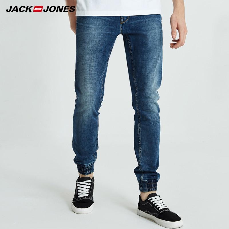 Jack Jones Mens Leisure Slim Fit Long Denim Trousers Jeans Men   218332565