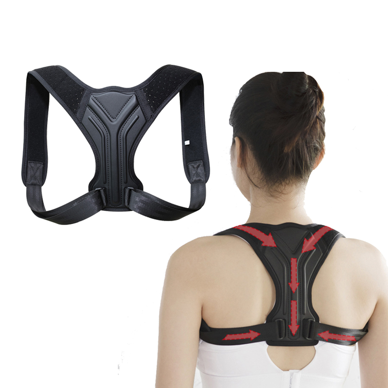 Adjustable Back Posture Corrector Belt High Elastic Corrector Relieve Pain Posture Straps Clavicle Support Brace Drop Shipping(China)