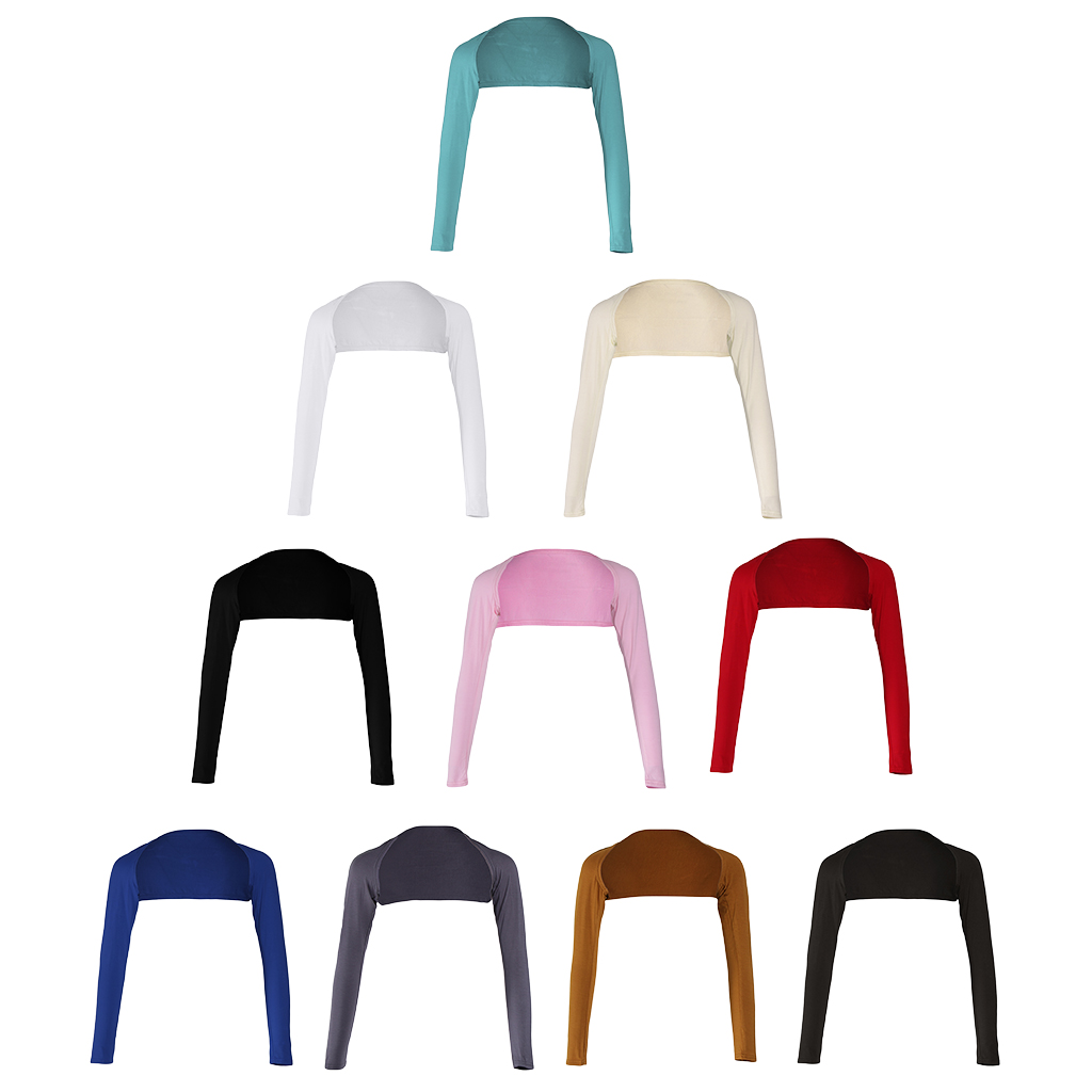 Fashion Hijab Muslim Modal One-piece Sleeves Arm Cover Shrug  10 Color