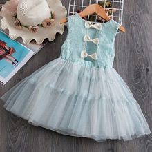 Girls Dress 2020 New Summer Brand Girls Clothes Lace And Ball Design Baby Girls Dress Party Dress For 2-6 Years Infant Dresses пати бум колпак party girls 6 шт
