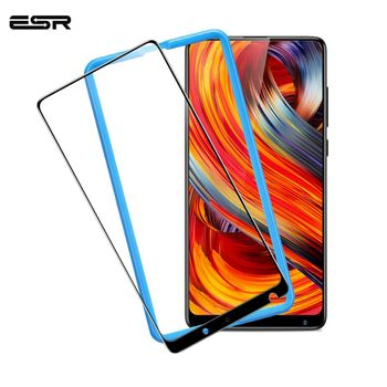 ESR Xiaomi MIX 2 2S Screen Protector for Xiaomi 8 8 SE Tempered Glass 3X Stronger 9H 3D Full Coverage Xiaomi MI 6 Protector Film oem 4 3 ips lcd full 2 2 xiaomi mi 2s