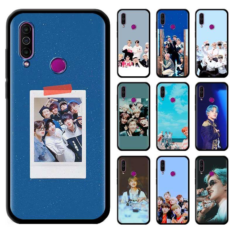 Black Tpu Capa For Meizu M6 17 Pro 16 16th 16s 16T 16Xs Cases Silicone Phone Coque Cover Korean Team JIN Kpop