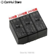 1Pcs HF JQX 115F-I-005-1HS3 115F-I-012-1HS3 115F-I-024-1HS3 5 V, 12 V, 24V 6-pin 16A 250VAC HongFa Relais