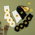 Симпатичные Подсолнухи, корейский цветок, Спортивная уличная одежда, модные женские и мужские бриллианты в стиле Харадзюку, универсальные ...