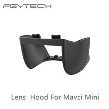 Pgytech mavic mini/mini 2 lente capa cardan câmera anti flare protetor sol sombra brilho escudo para dji mavic mini acessórios